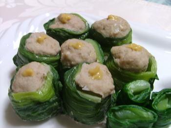 青梗菜のシューマイ 004.JPG